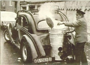 world war two gasifier car
