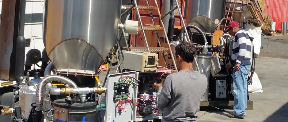 Comissioning Biomass Gasifier Generators