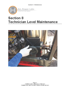 Maintenance Handbook