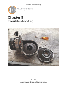 Troubleshooting handbook