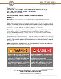 fuel purge instructions