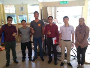 Staff Member in Malaysia