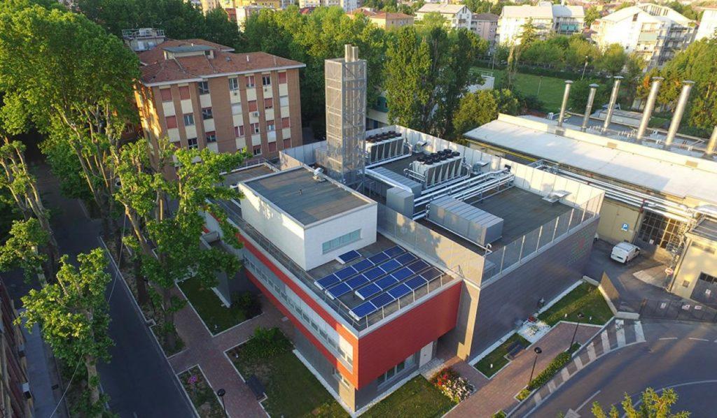 University of Parma Aerial Photo