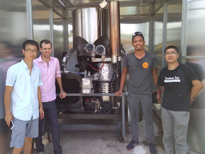 Singapore Team with PP20