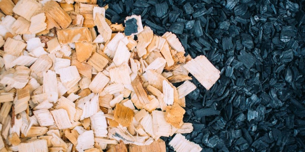 wood to biochar
