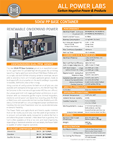 Base 50 kW datasheet