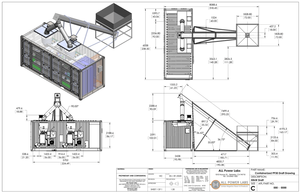 Dula PP30 technical drawing